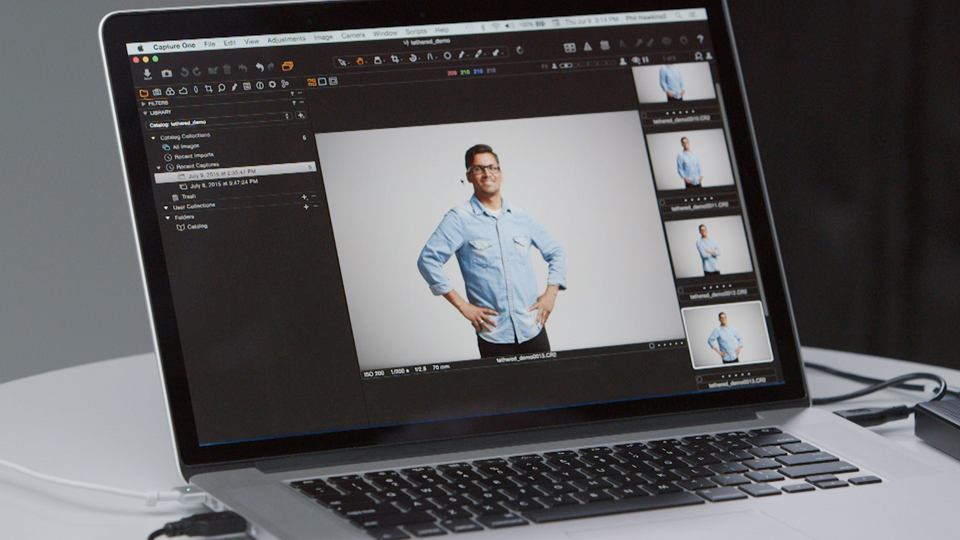 Importing your images from a hard drive: Up and Running with Capture One Pro 8