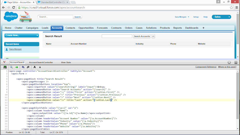Welcome: Improving Visualforce Performance