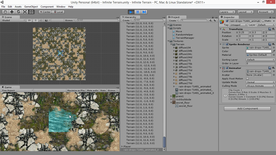 Unity 5 2d generate procedural terrain gumiabroncs Image collections