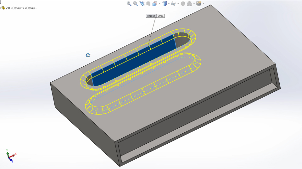Fillets and Chamfers: Certified SOLIDWORKS Associate Prep Course