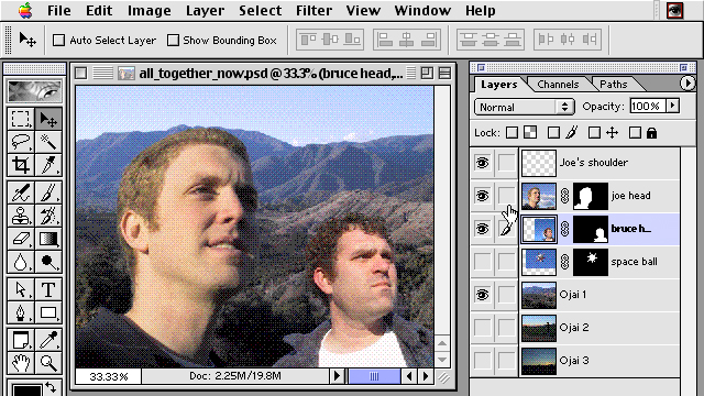 Where Did It All Go: Advanced Photoshop 6