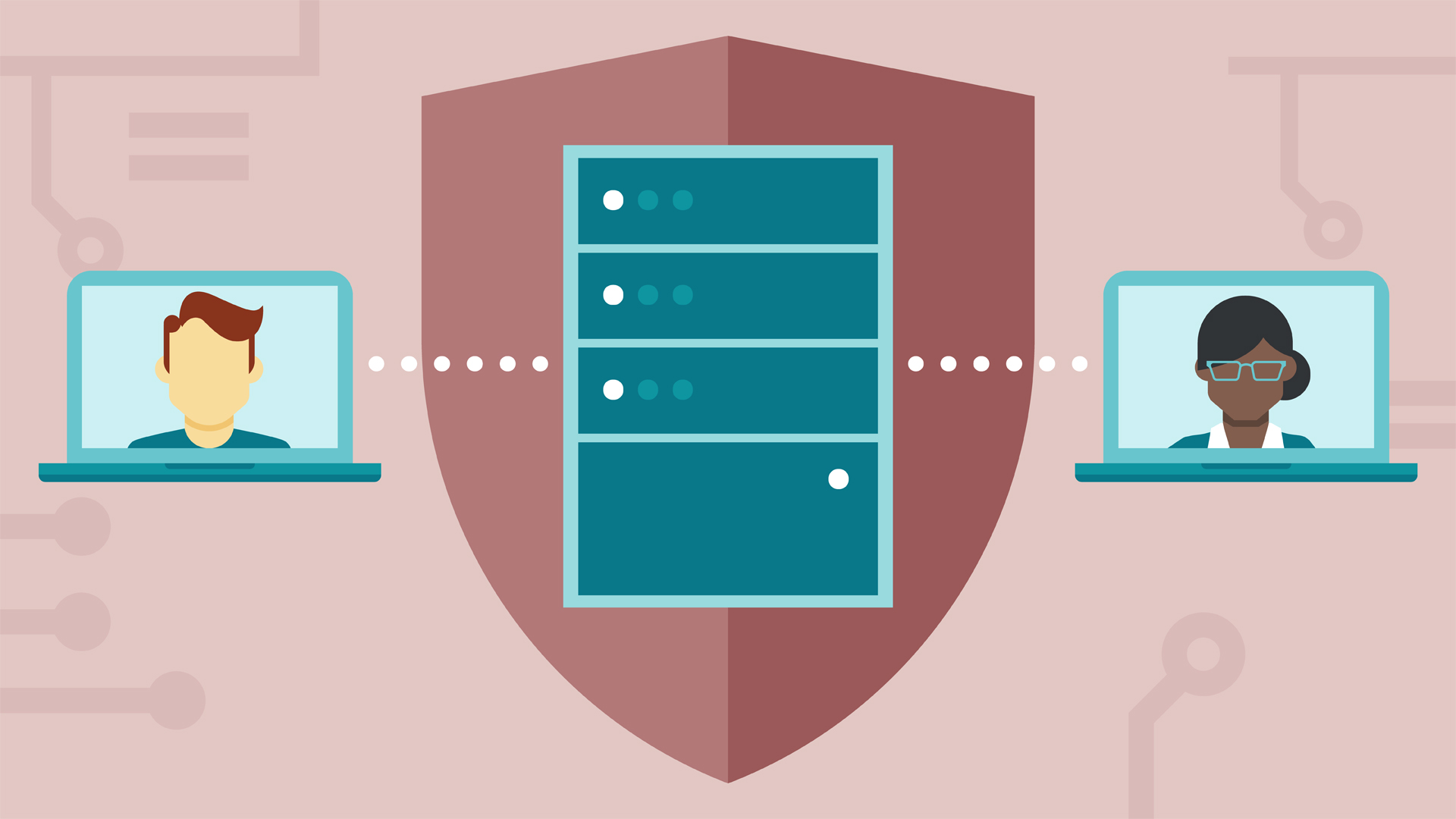 Providing server and domain isolation