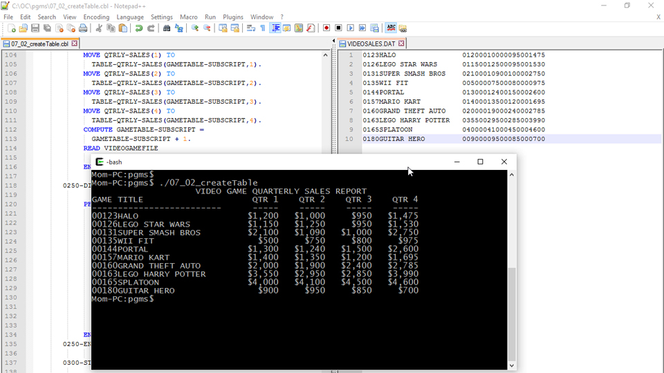 Writing records to a sequential file: Up and Running with COBOL