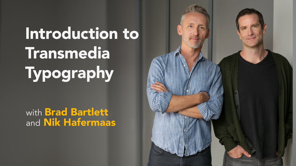 Future casting: Emerging media: Introduction to Transmedia Typography