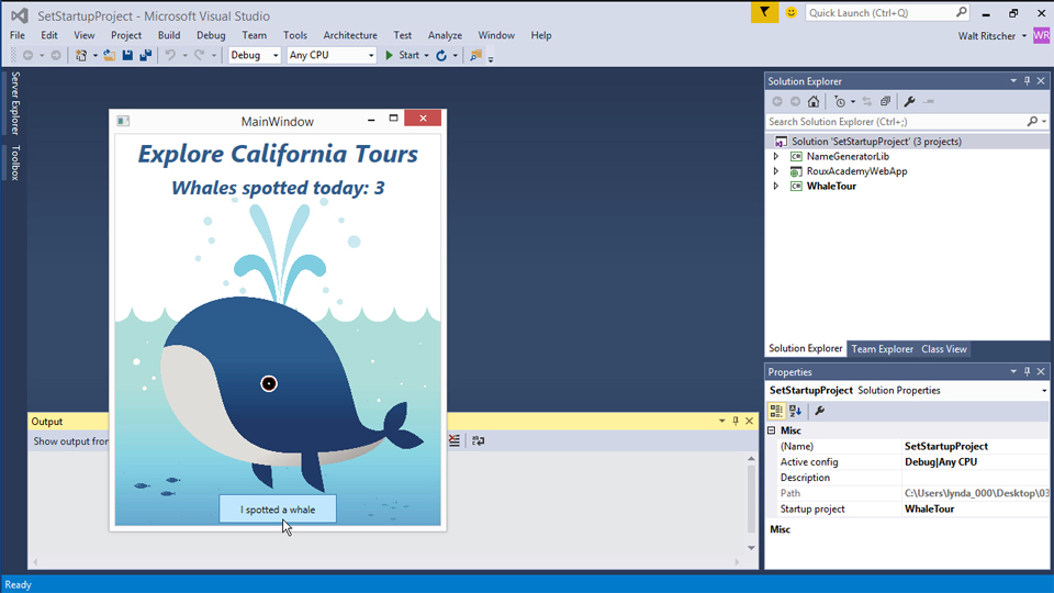 Welcome: Visual Studio 2015 Essentials 03: Exploring Projects and Solutions
