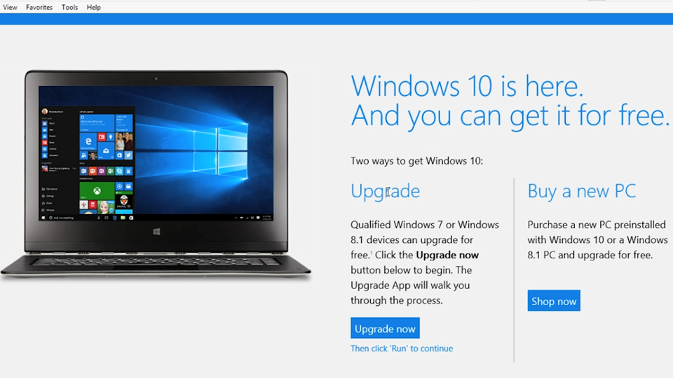 System requirements: Migrating from Windows 8 and 8.1 to Windows 10