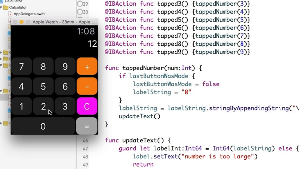 Building A Calculator For Apple Watch