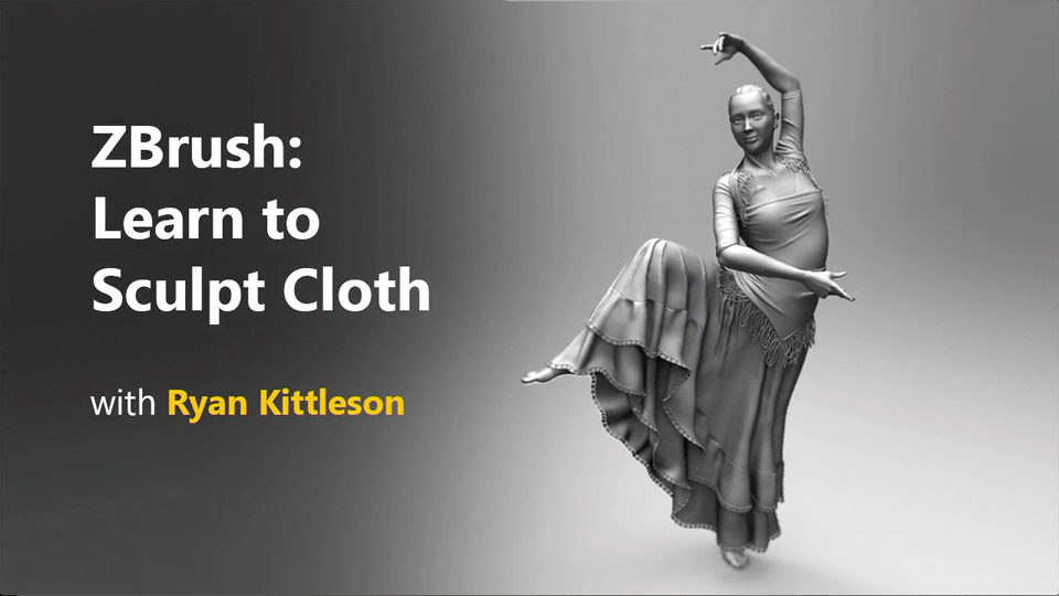 Welcome: ZBrush: Learn to Sculpt Cloth
