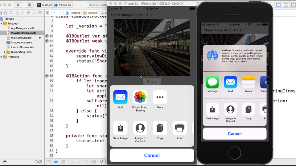 The Today extension: iOS 9 App Extensions