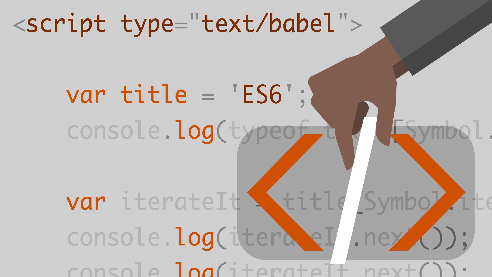 In-browser Babel transpiling