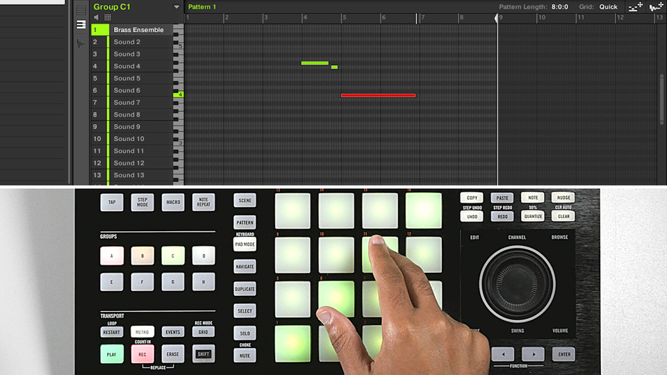 Welcome: Using KOMPLETE Sounds in MASCHINE