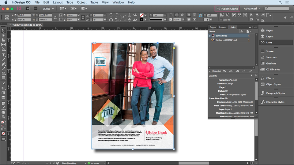 Welcome: InDesign Insider Training: Working with Photoshop and Illustrator