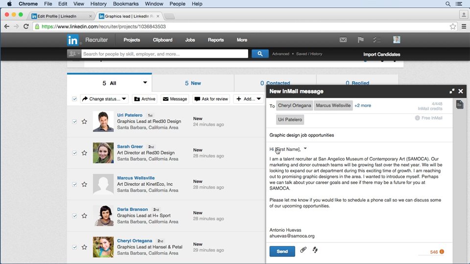 Welcome: Up and Running with LinkedIn Recruiter