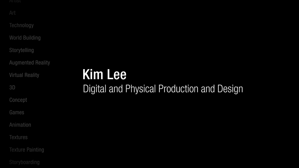Introduction: Kim Lee: Digital and Physical Production and Design