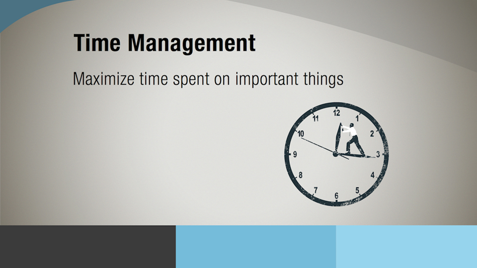 Welcome: 5 Ways to Control Your Time