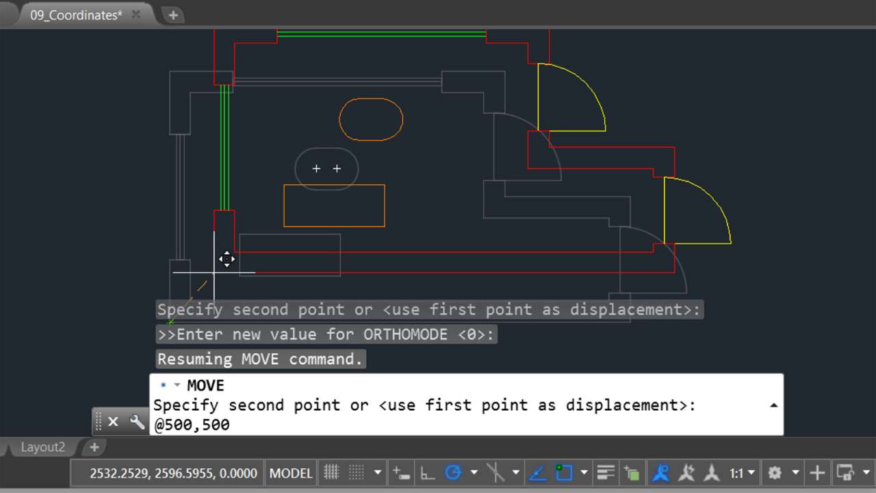 Welcome: AutoCAD: Using the Command Line