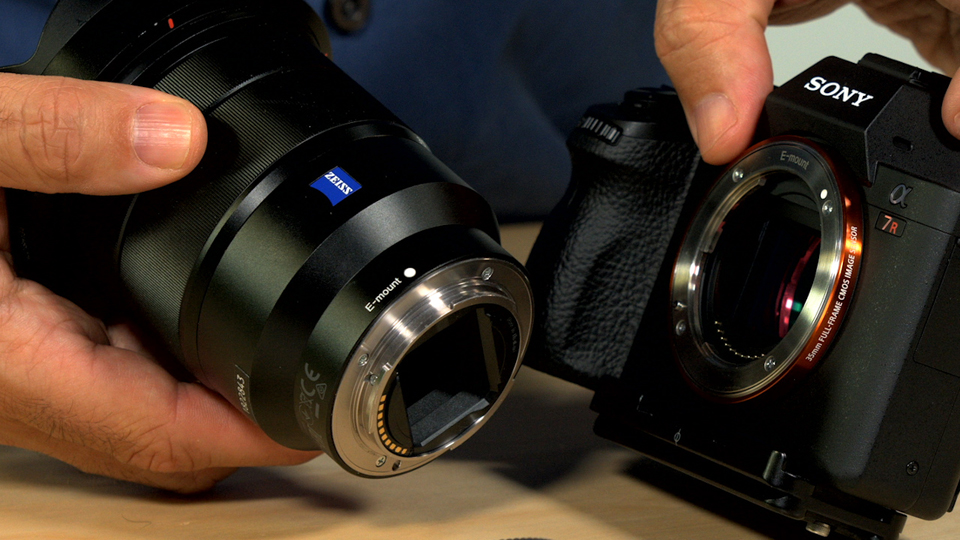 Lens controls and zoom functions: Up and Running with the Sony Alpha a7 Series