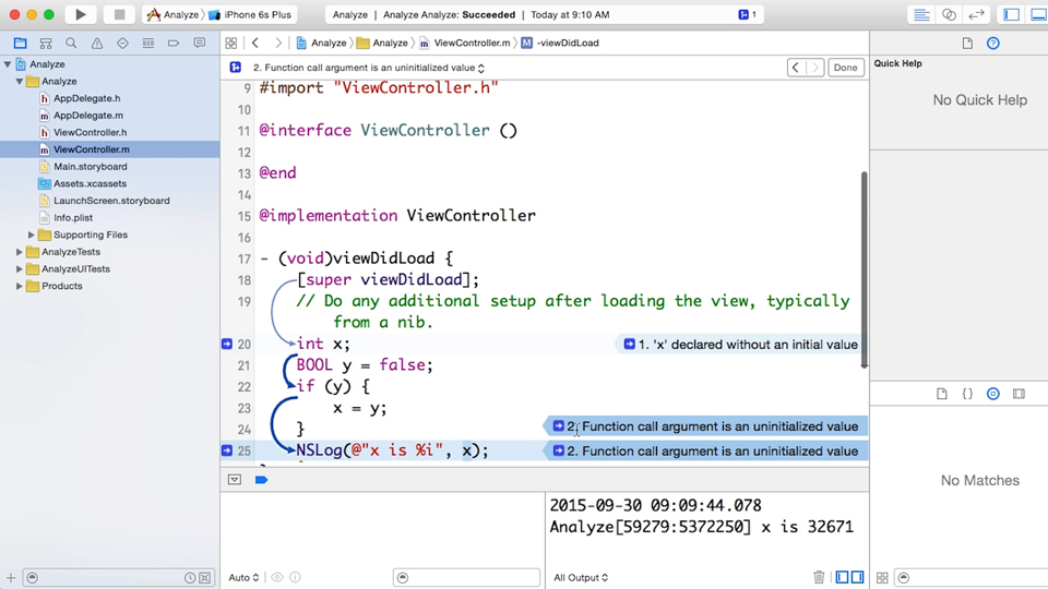 Using the compiler from the command line: Xcode 7 Essential Training