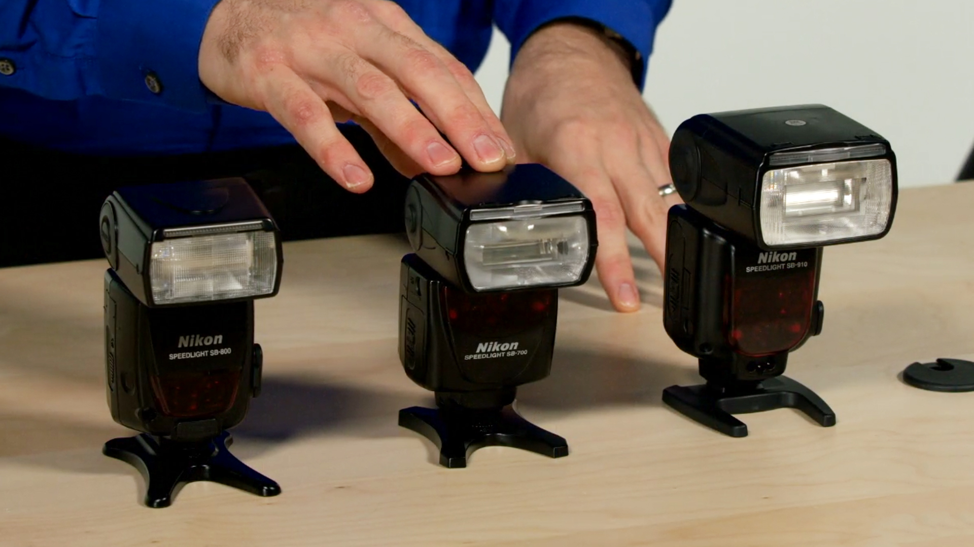 How to use an on-camera speedlight as fill flash for portraits.