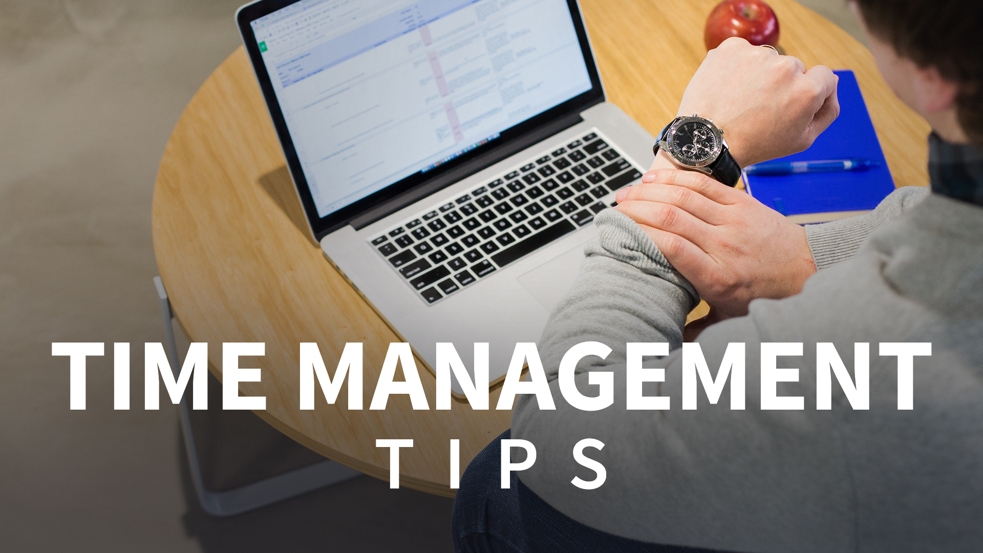 Commit to your calendar: Time Management Tips Weekly