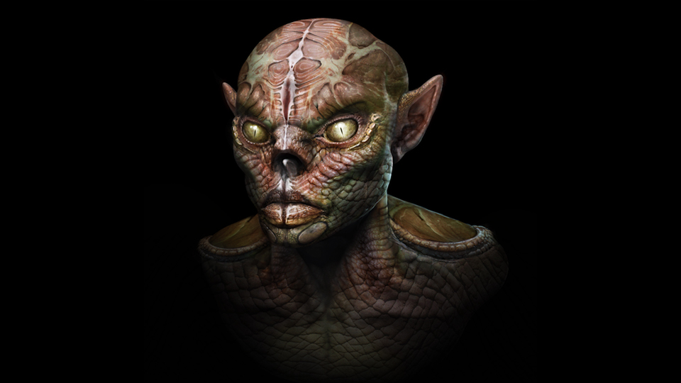 Creating a Goblin Using Textures and Compositing in Photoshop