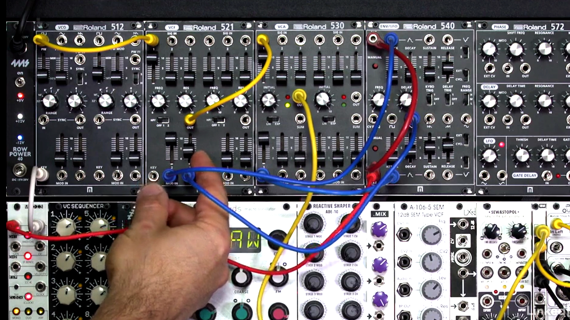 Learning Modular Synthesis