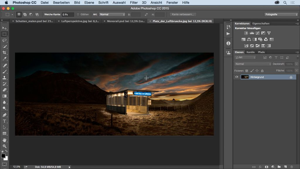 Weiterbildung im Bereich Foto-Compositing: Online-Kurse