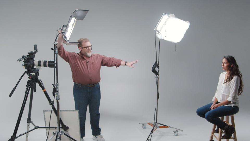 & Learning Video Lighting