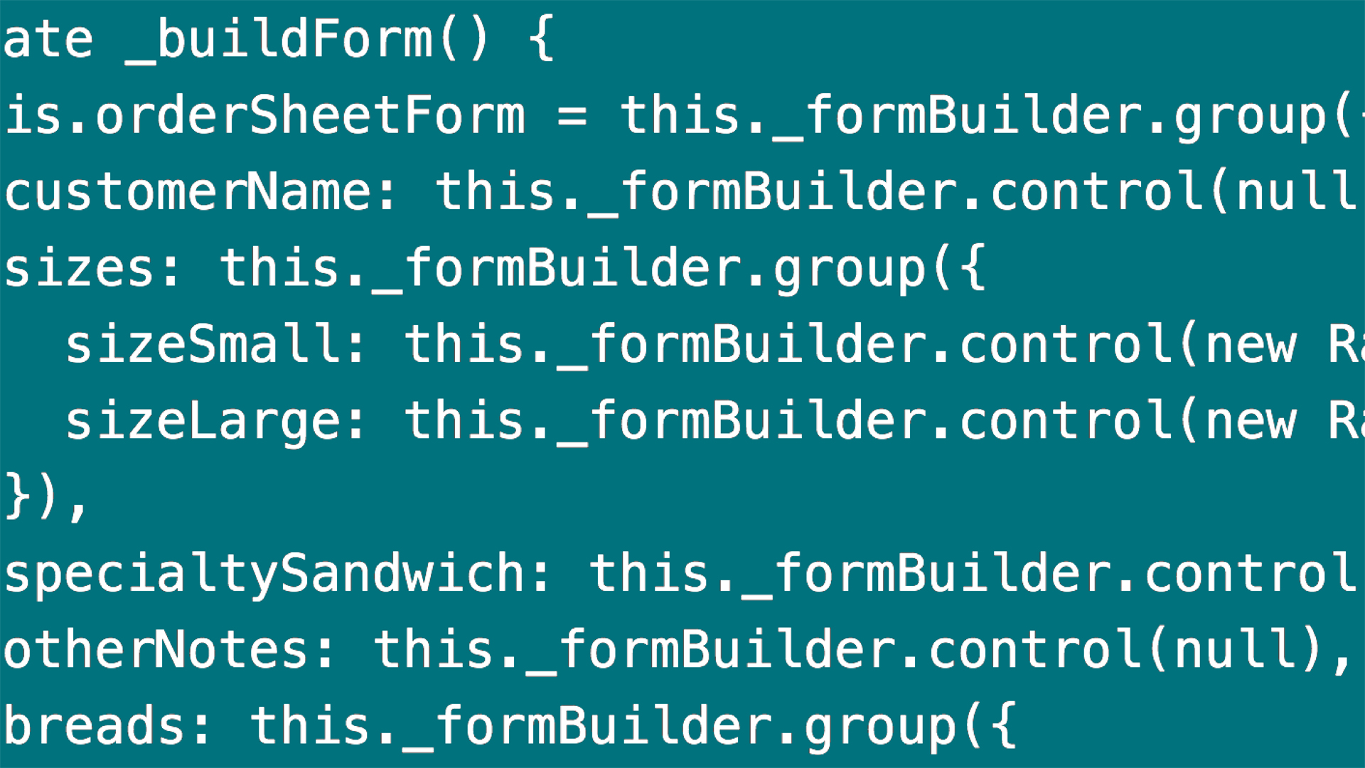 Using the FormGroup in the template: Angular 2 Forms: Data Binding and Validation