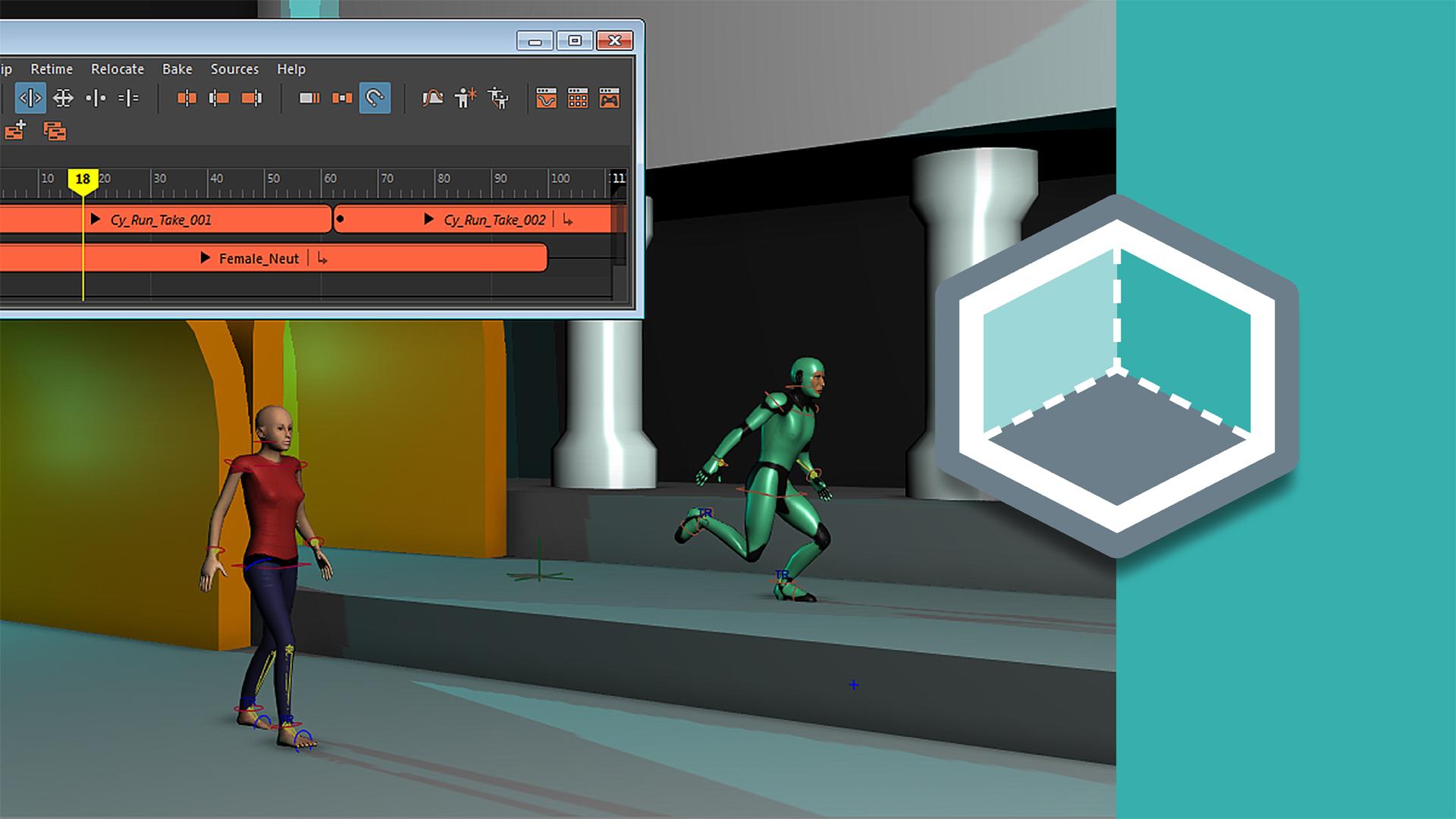 Color game trick - Maya Time Editor