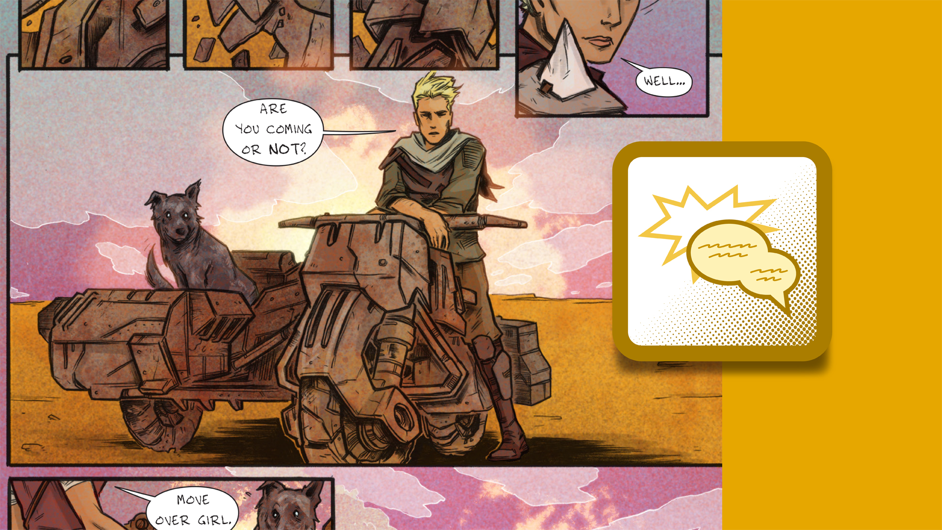 Welcome: Designing Dynamic Layouts with Text and Dialog in Comics