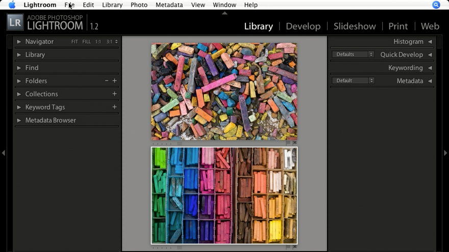 Welcome: Lightroom 1.1 New Features