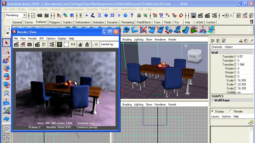 : Maya 2008 Essential Training