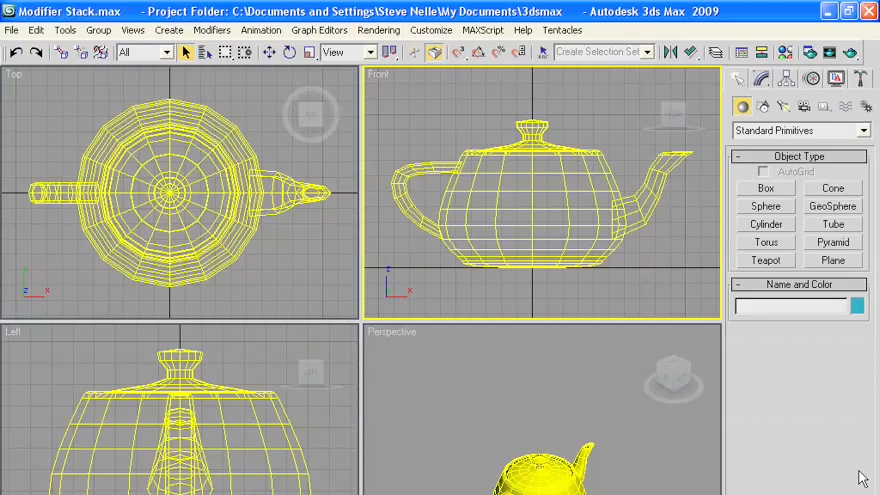 3ds max 2009 essential training for 3ds max course