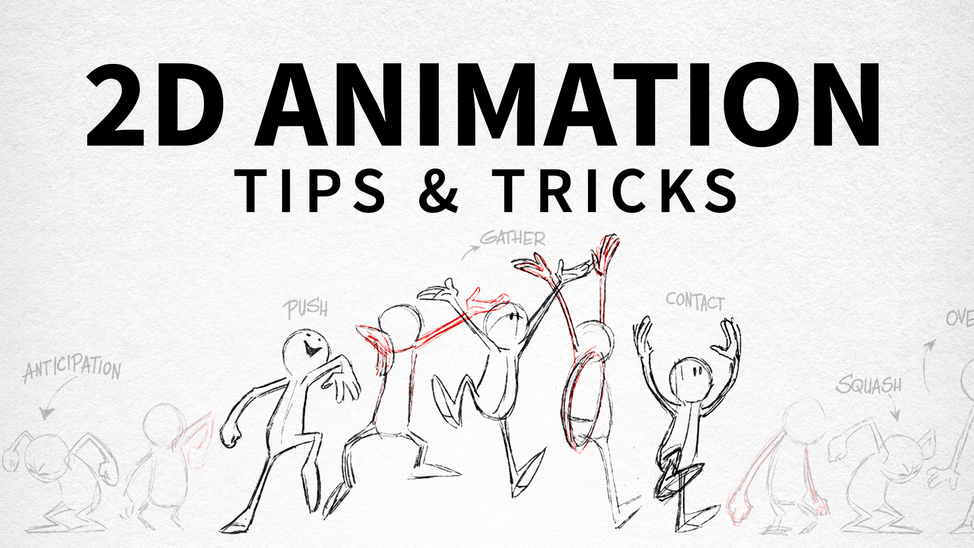 2d animation tips and tricks