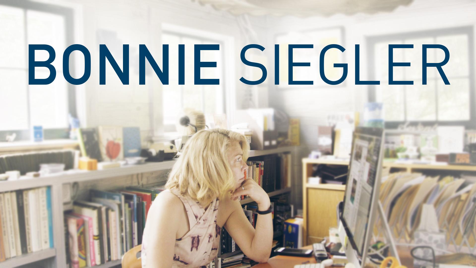 Bonnie Siegler: Designing Her Design Career: Bonnie Siegler: Designing Her Design Career