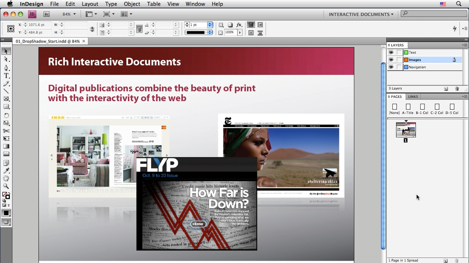 Introduction: InDesign CS4: Interactive Documents and Presentations