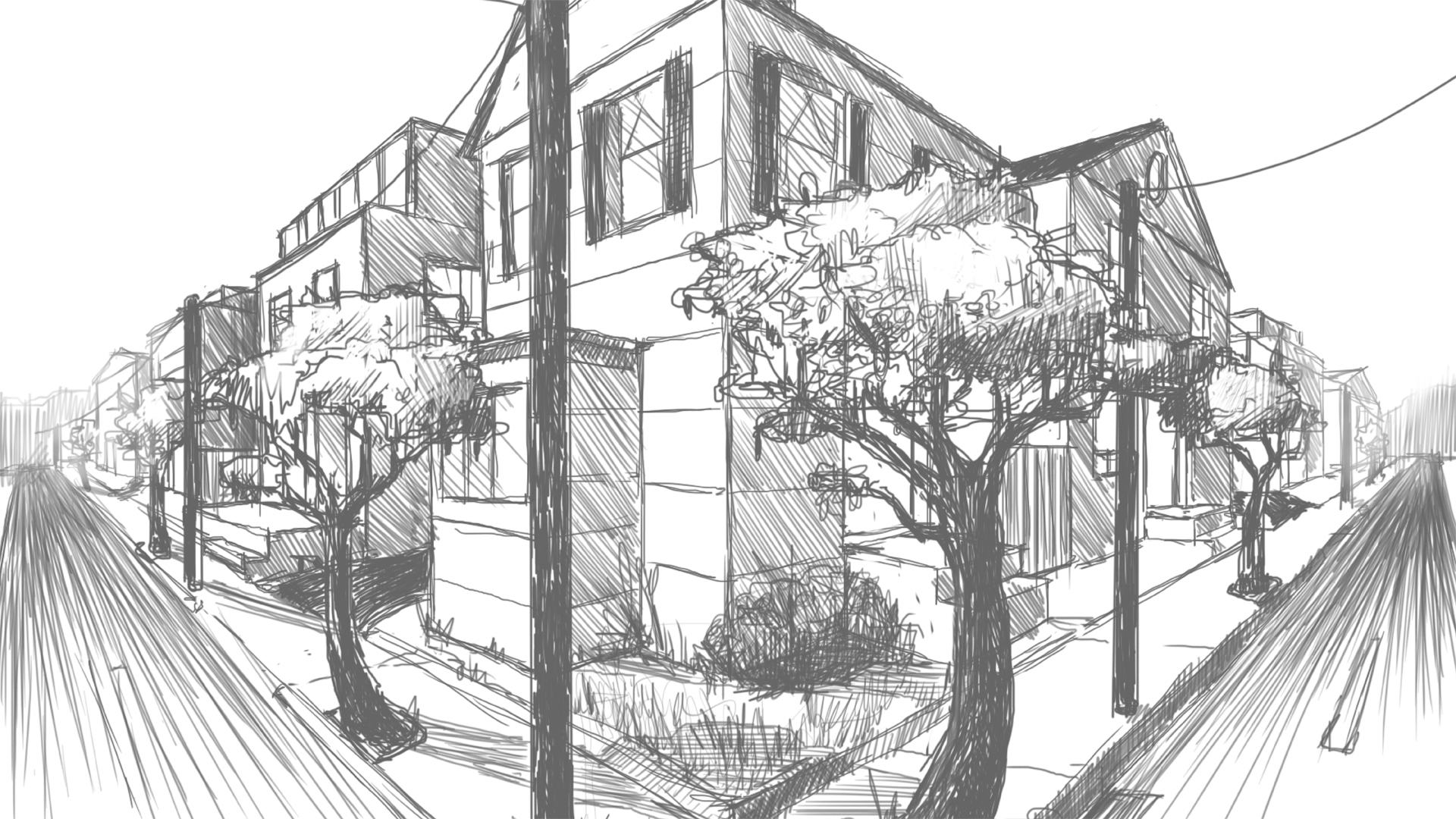 Drawing 2-Point Perspective