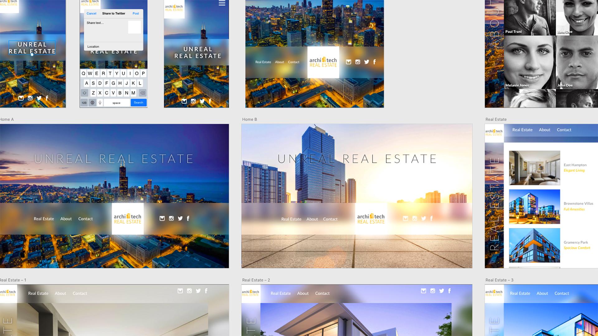 Adobe XD: Design a Website