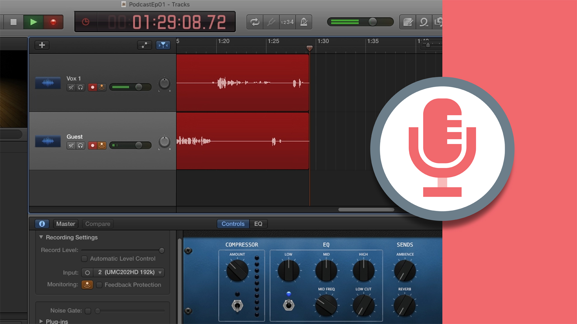 Welcome: Podcasting with GarageBand
