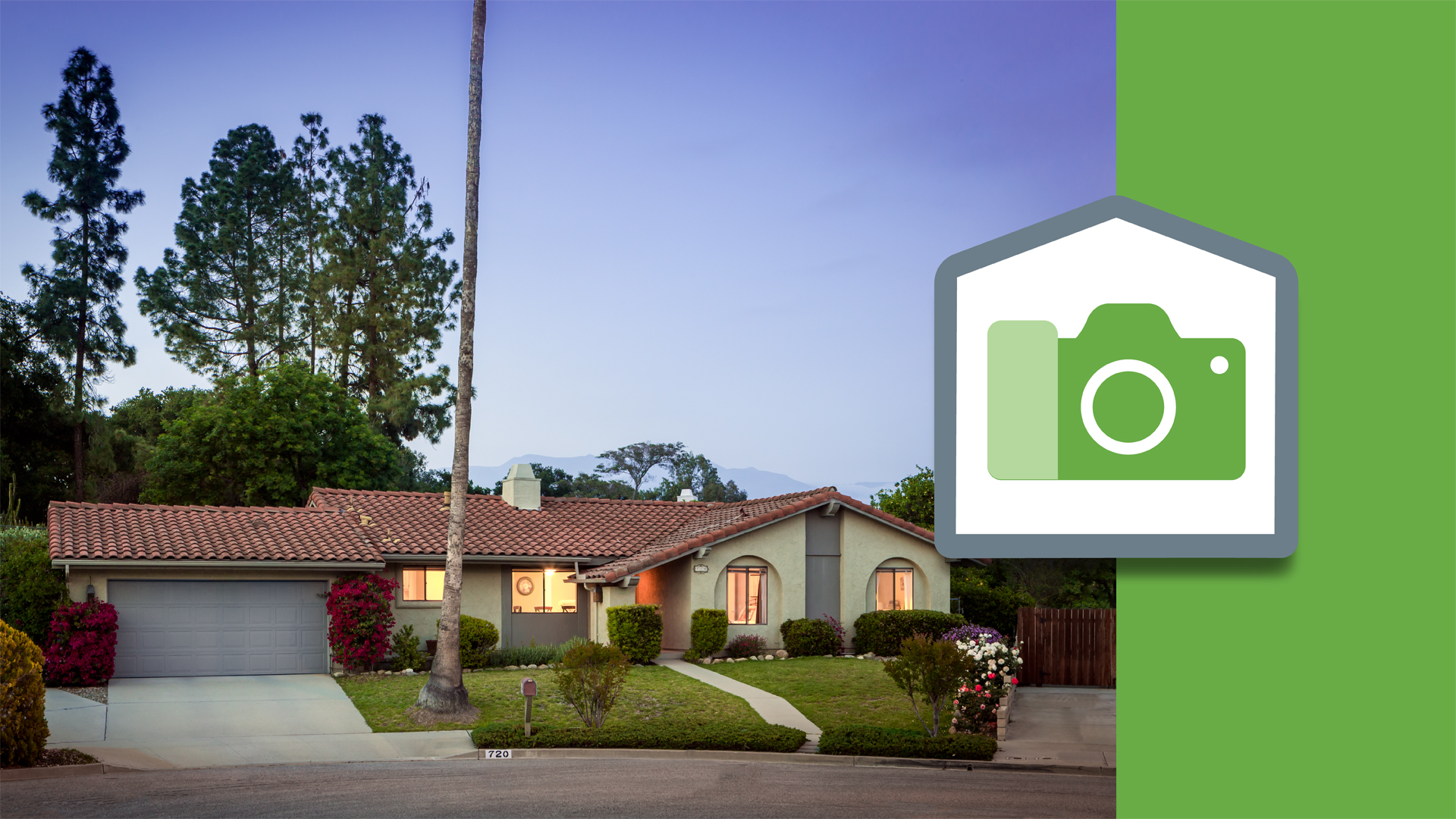 Welcome: Real Estate Photography: Exterior at Twilight