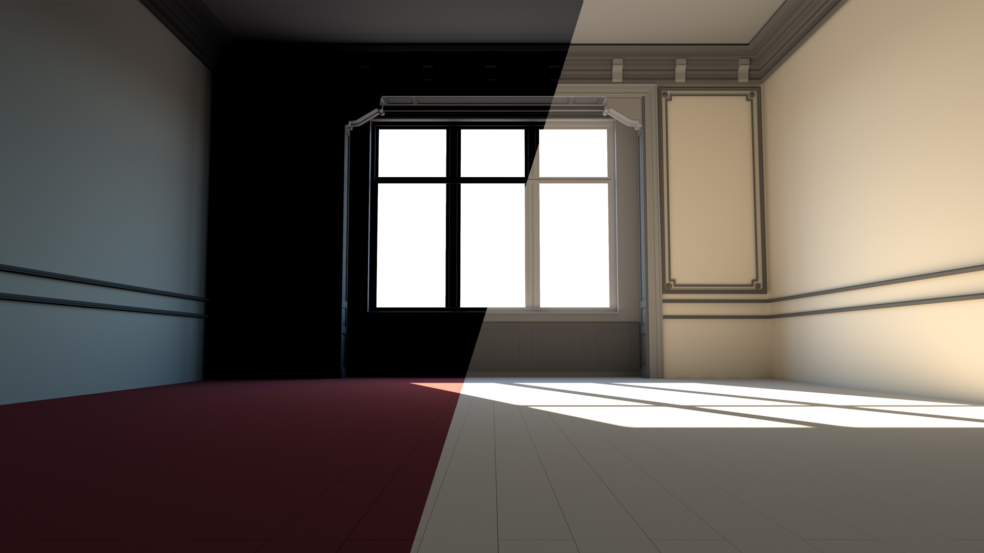 V Ray Control Color Bleed In Blender
