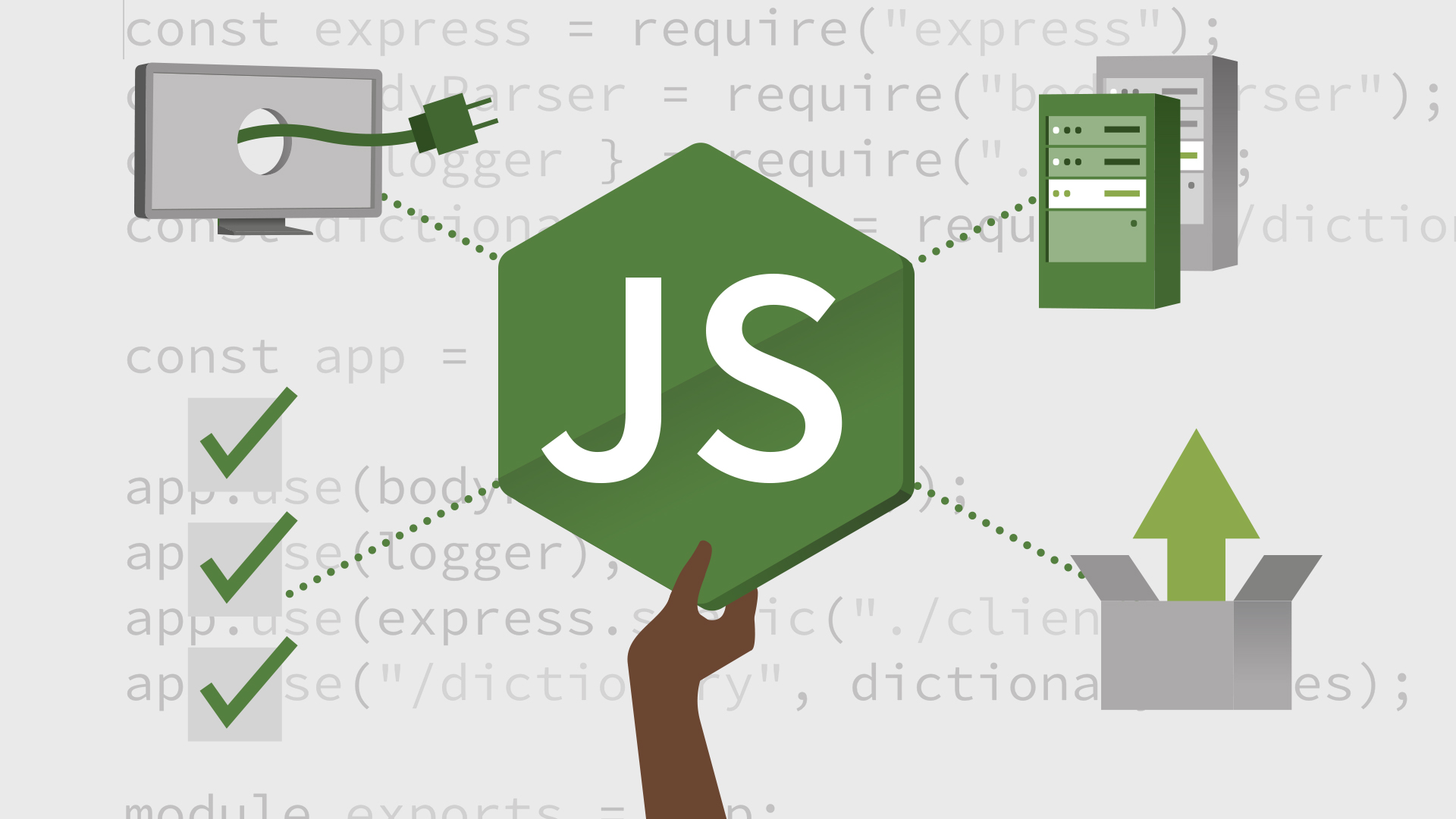 Go beyond the basics in Node: Node.js Essential Training: Web Servers, Tests, and Deployment