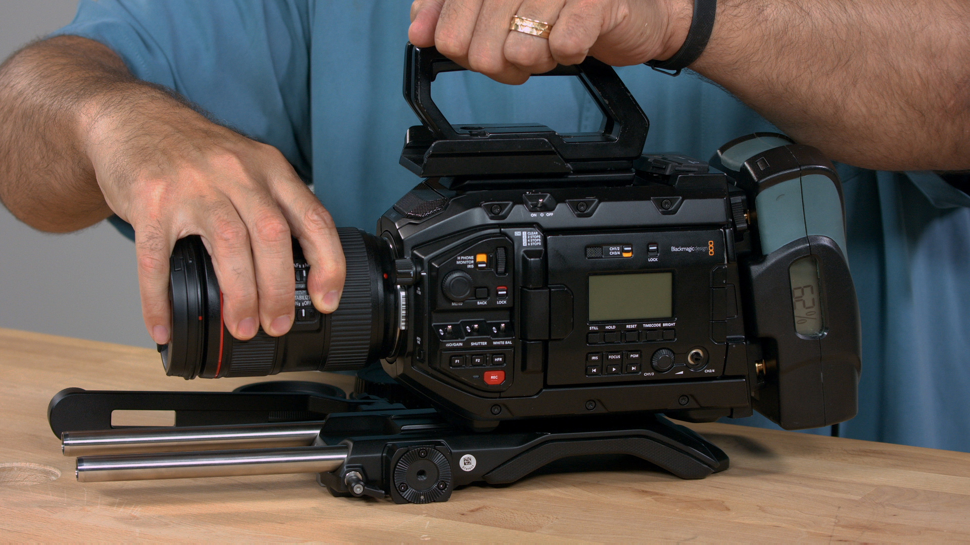 Controlling The Lens With The Micro Studio Camera