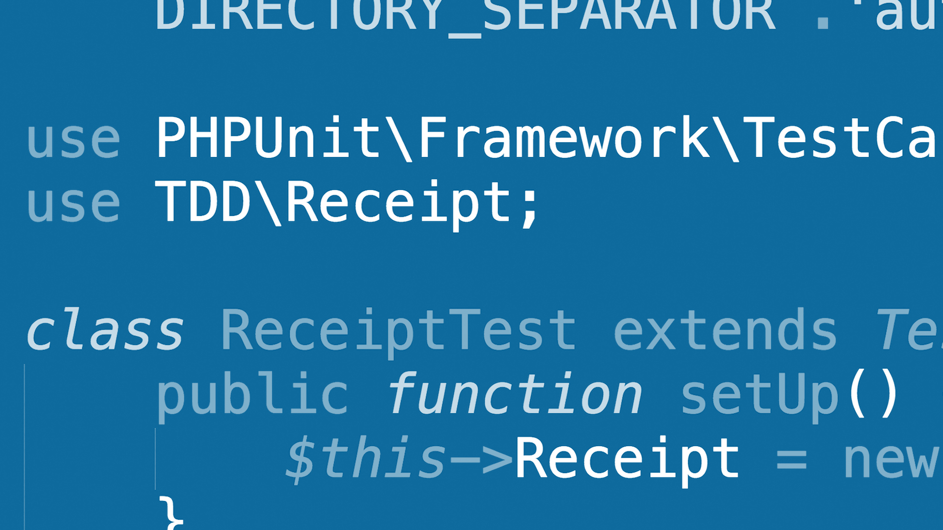Php test driven development with phpunit fandeluxe Choice Image