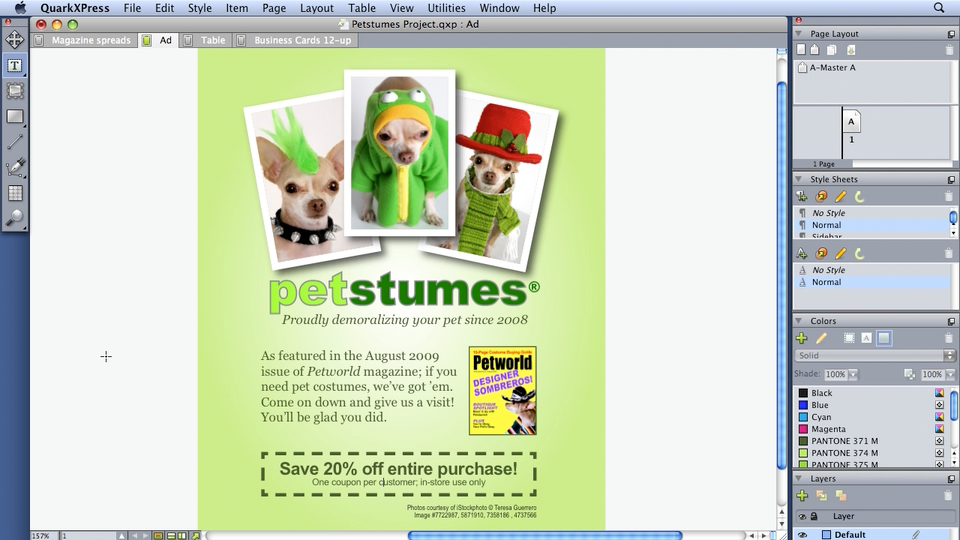 Welcome: QuarkXPress 8 Essential Training