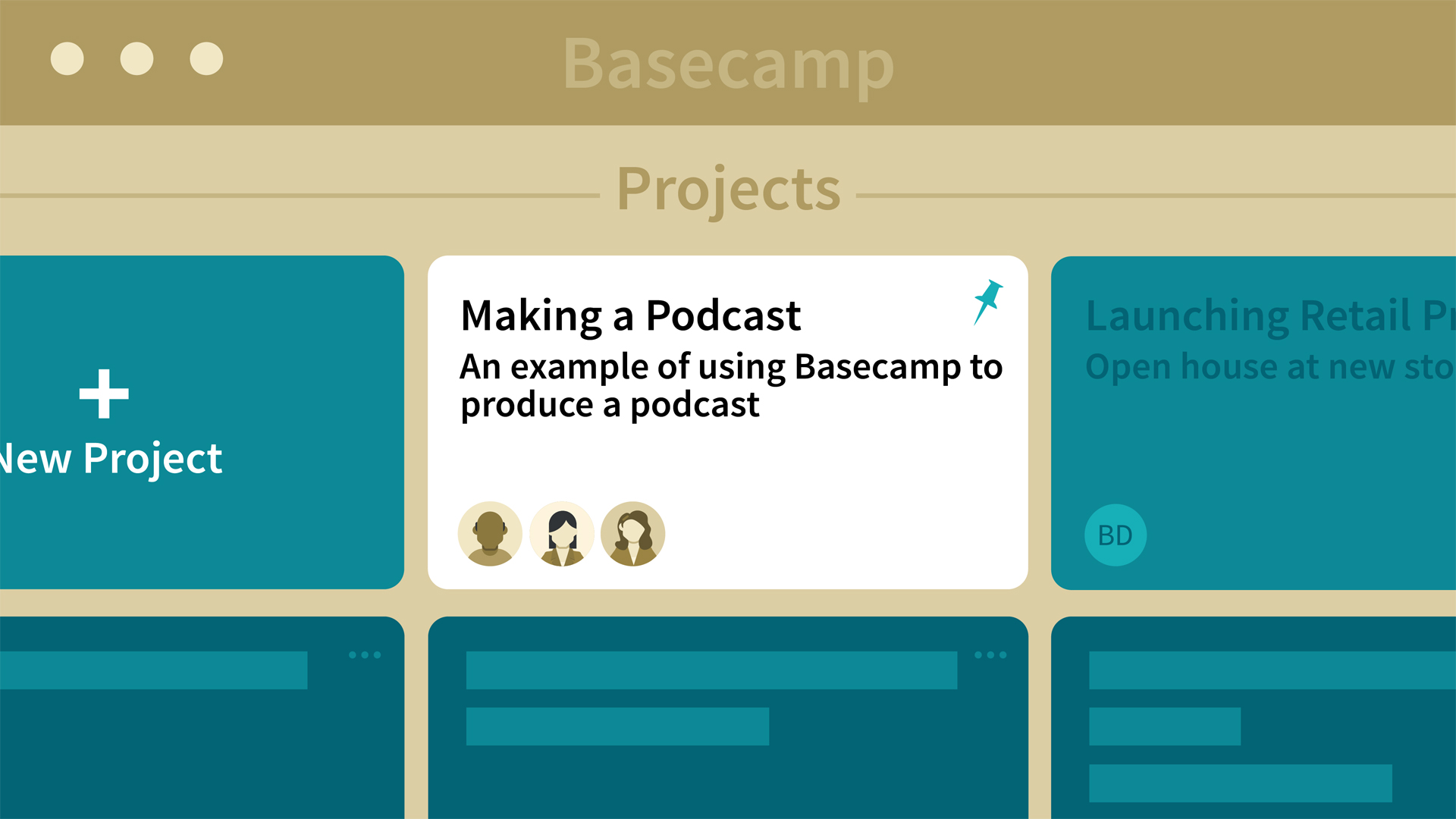 Creating a text doc in Basecamp
