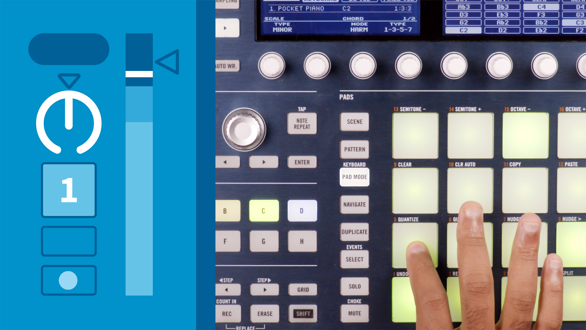 Welcome: Using MASCHINE with Ableton Live