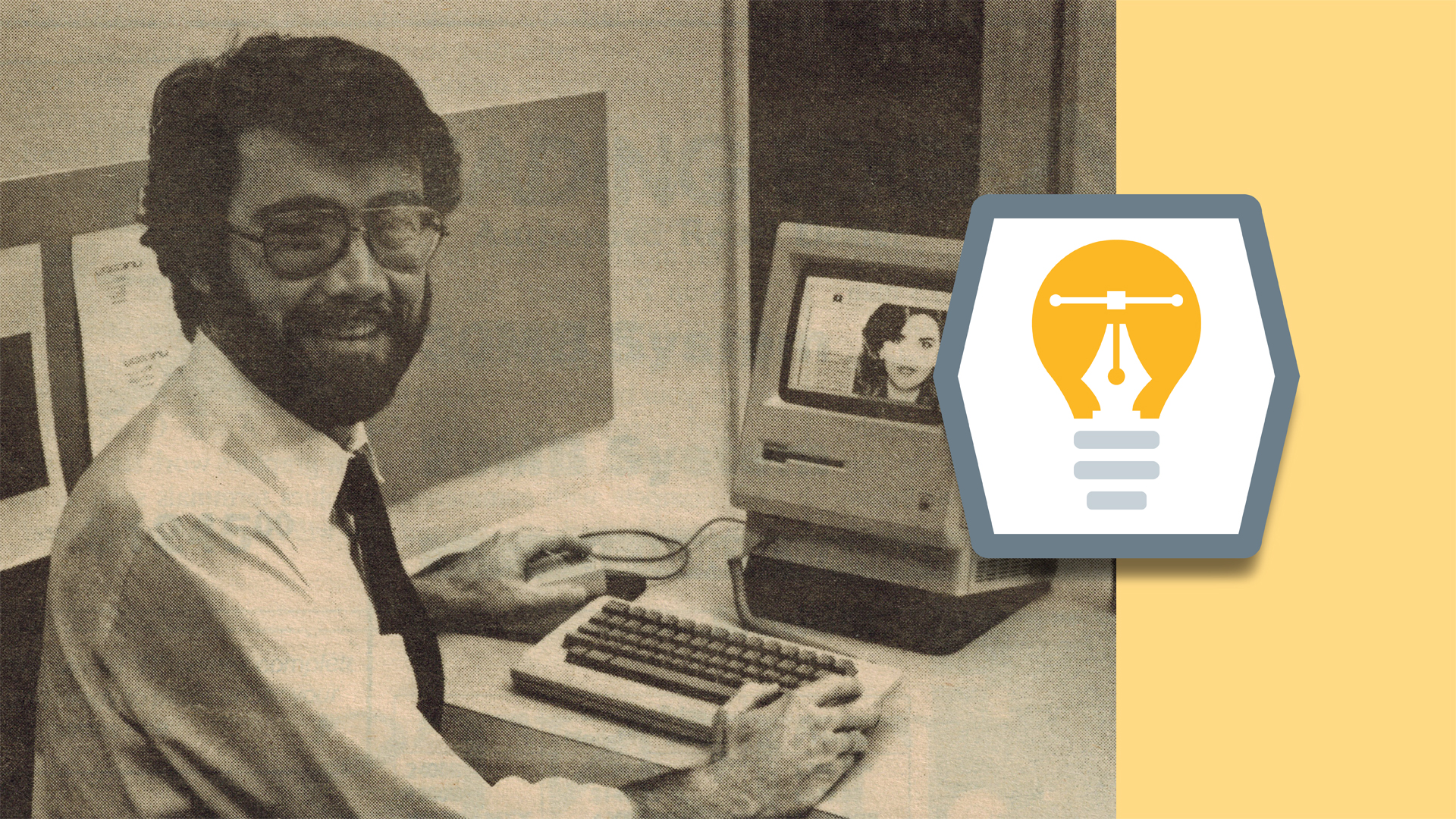 How did you become the first desktop publisher?: Graphic Design: Insight and Advice