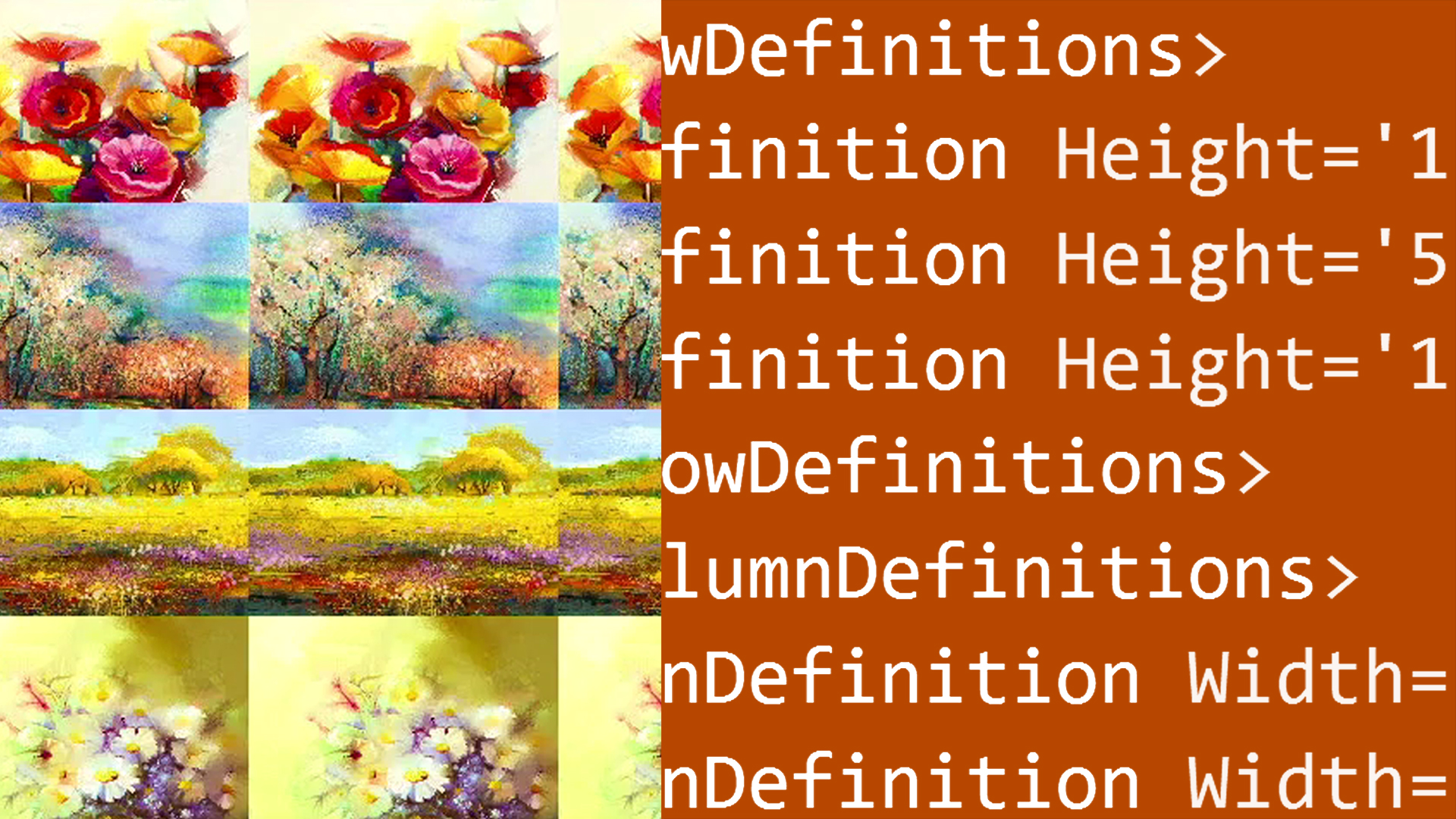 Examples of custom layout panels - Windows Presentation Foundation: 2 Layout